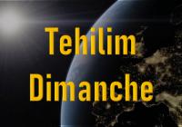 Tehilim - Dimanche