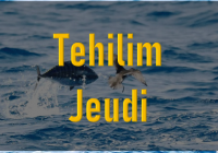 Tehilim - Jeudi