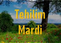 Tehilim - Mardi